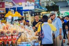 曼谷,泰国- 2017年4月23日:或者突岩Kor市场(营销 库存照片