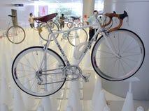 曼谷,泰国- 2012年11月23日:葡萄酒自行车艾迪・莫克斯 免版税库存照片