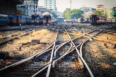 曼谷,泰国- 2017年4月23日:透视铁路大局 免版税库存照片