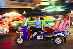 曼谷出租汽车 库存图片