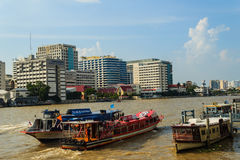 曼谷,泰国- 2016年10月14日:Siriraj医院视图从 库存图片
