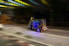 曼谷,泰国- 2016年10月02日:Tuktuk在街市曼谷 图库摄影