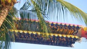 曼谷,泰国2015年11月24日 在梦想世界的震动的机器是一个泰国` s著名游乐园在 免版税库存图片