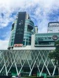 曼谷,泰国10月30日2016年:中央世界正面图  免版税库存照片