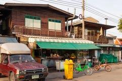 曼谷,泰国- 9月15 :卖nood的地方餐馆 免版税图库摄影