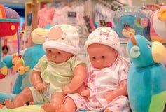 曼谷,泰国- 10月29 :在购物中心Bangkha的婴孩部分 图库摄影
