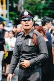 曼谷,泰国- 10月14,2016 :泰国人出席Gra 免版税库存图片