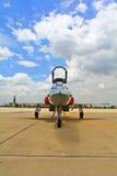 曼谷,泰国- 7月02 :航空器展示 库存照片