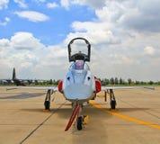 曼谷,泰国- 7月02 :航空器展示 免版税图库摄影
