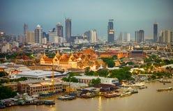 曼谷,泰国- 10月2,2017 :风景观点的盛大勃拉 库存照片