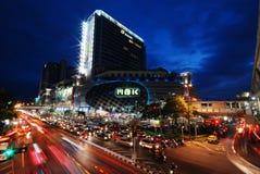 曼谷,泰国- MBK购物中心 免版税图库摄影