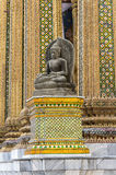 曼谷:小坐的菩萨 免版税库存照片