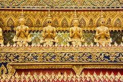 曼谷:telamons 免版税库存照片