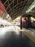 曼谷驻地,铁路 免版税图库摄影