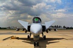 曼谷- 7月2 :JAS 39 Gripen 免版税库存照片