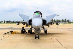 曼谷- 6月30 :JAS 39 Gripen 库存图片