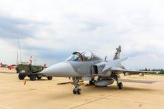 曼谷- 6月30 :JAS 39 Gripen 免版税库存图片