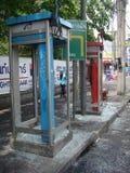 曼谷/泰国- 05 20 2010年:军队控制街道 免版税库存图片