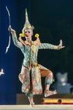 曼谷 泰国- 2015年12月13日, Khon是Tha舞蹈戏曲  库存照片