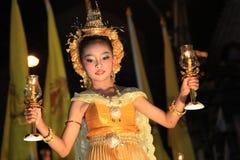 曼谷- DEC 5 : 泰国国王的Birthday Celebration - 2010年 免版税库存照片