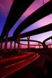曼谷bhumibol桥梁 库存照片