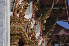 曼谷indrawiharn寺庙泰国 库存照片
