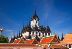 曼谷loha金属宫殿prasat泰国 图库摄影