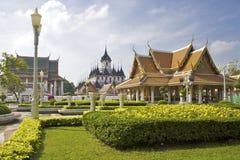 曼谷rajanadda寺庙wat 免版税库存图片