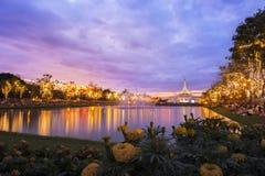 曼谷Rama9国家公园 免版税图库摄影