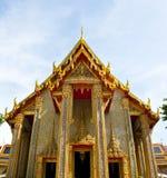 曼谷ratchabophit泰国wat 库存照片