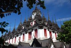 曼谷ratchanadda寺庙泰国 库存图片