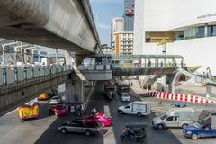 曼谷Skywalk 免版税库存照片