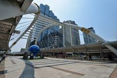 曼谷Skywalk 免版税图库摄影