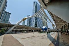曼谷Skywalk 图库摄影