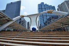 曼谷Skywalk 库存照片