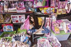 曼谷stret商店 免版税库存图片
