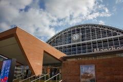 曼彻斯特中央大会复合体,英国 库存图片