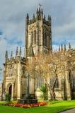 曼彻斯特大教堂 免版税库存图片