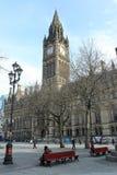 曼彻斯特大教堂 免版税库存照片