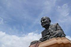 曾祖父Toud纪念碑Wat HuayMonKon 库存照片
