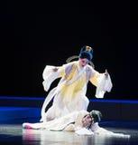 """曾经的这紫色簪子的零件--江西linchuan† opera""""four梦想  免版税库存照片"""