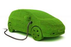 替代次幂概念eco汽车。 库存图片