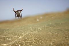 替代海滩视图 库存照片