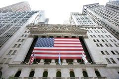 替换新的股票美国wallstreet约克 免版税库存图片