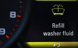 替换物洗衣机流体 库存图片