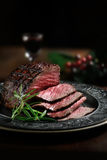 最上端股肉牛肉v 库存图片