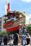 最传统著名节日gion的matsuri 免版税库存图片