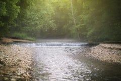 最低水位桥梁 免版税图库摄影