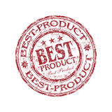 最佳的产品不加考虑表赞同的人 库存照片