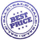 最佳的价格印花税 向量例证